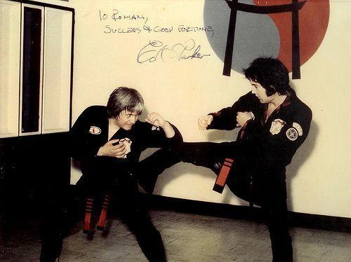 Side kick to you Ed.