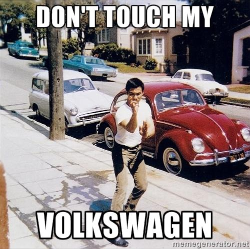 Early BL ad for Volkswagon