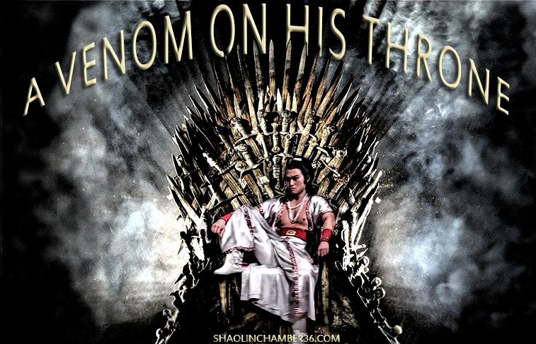 A Venom On His Throne