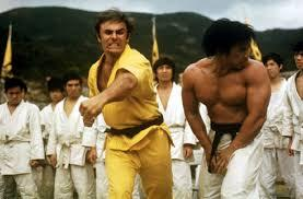 Some of the cast from Enter The Dragon - Recently