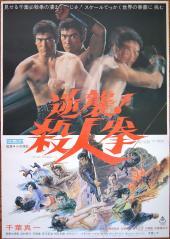 STREET FIGHTER'S LAST REVENGE, Japanese theatrical poster