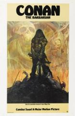 CONAN THE BARBARIAN (1982) Paperback book cover by Frank Frazetta