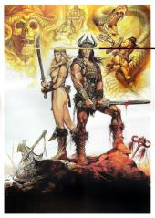 CONAN THE BARBARIAN (1982) poster