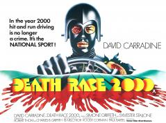 DEATH RACE 2000 (1975) White background, landscape version