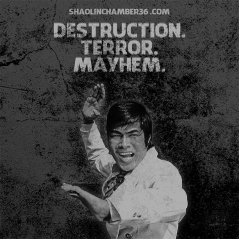 Destruction. Terror. Mayhem.