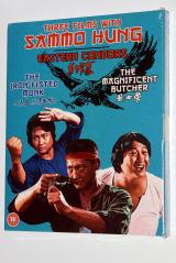Eureka's Three Films with Sammo Hung Blu-ray set